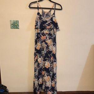 Floral maxi Lauren Conrad dress